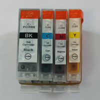 Wholesale For canon PGI BK CLI C CLI M CLI Y ink cartridge New chip color set for IP4200 IX5000 IX4000
