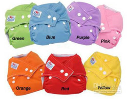 Wholesale Hot sell Diapers Inserts Cheaper Baby Diapers Plain Color Babyland Diaper Pockets