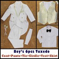Wholesale Boys Formal Occasion Tuxedo New Suits Coat Pants Tie Girdle Vest Shirt Y Children s Special Occasions Dresses Evening Dresses