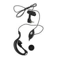 Wholesale 1 Pin Braided Rope Earpiece With Microphone For Motorola Radios T6200 C016