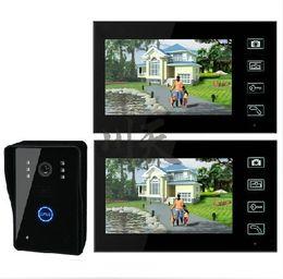 Wholesale 2 GHz Wireless Video Door Phone Audio Visual Intercom Monitors with CMOS Camera Intercom Access Control