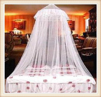 Twin Circular Home Elegant Lace Mosquito Net Insect Bed Canopy Netting Curtain Mosquito Net