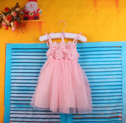 Wholesale 2013 Summer new girl tutu dress children lace dresses girls clothese cotton gauze dress for girls color MAY2
