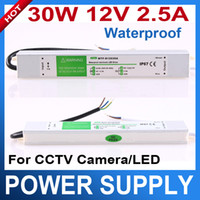 Wholesale Waterproof Electronic LED Driver Power Supply Transformer V V to V W power adapter