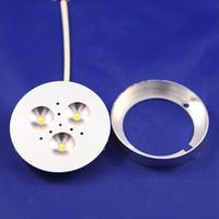 Wholesale Price W LED Puck Cabinet Light LED spotlight led down lights AC85 V DC12V DHL