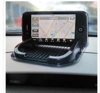 Wholesale Anti slip mat for iphone ipad cell phone frame multi function stowage box car anti slip pad