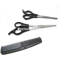 Scissors Kit barber scissor set - 3 In Hair Cutting Thinning Hairdressing Shears Scissors Comb tool Set Barber New