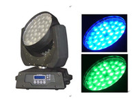 Wholesale 36 W LED ZOOM MOVING HEAD WASH stage lighting led effect lighting led par lighting disco lighting dj lights culb lighting