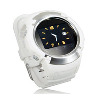 Wholesale White Real time Silicone GPS Tracking Camera function GPRS MP3 MP4 watch player Supports E Book