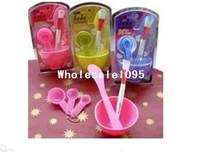 Wholesale New in Beauty DIY Facial Mask Tool kits Bowl Set Mixing Bowl Brush Spoon