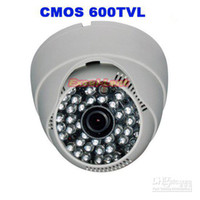 CCD Guangdong China (Mainland) Video Camera High Resolution 600tvl CMOS Security 48 LEDs 6MM lens CCTV Camera free shipping