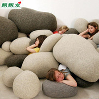 Wholesale Fluttering dragon pebble pillow set of cute sofa cushions and simple stylish home furnishings creat