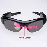 Wholesale High quality Sunglasses DV Mobile Eyewear Recorder Spy Video Camera hidden Sun glass DVR