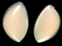 Silicone Breast Pad & Insert Push Up Pad Waterproof Breast Care Form Enhancer Bikini Bra Insert Pad