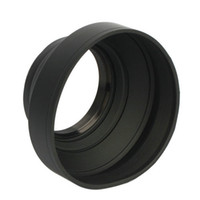 Wholesale 52mm Three Way Soft Rubber Collapsible Camera Lens Hood