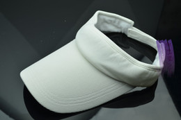 Wholesale Great Hot Outdoor sports essential no top cap travel tennis visor men and women can use sun hat