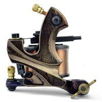 Wholesale Damascus Steel Hand Made Tattoo Machine Shader gun Wrap