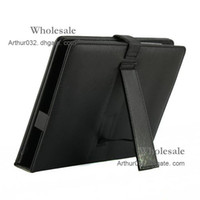 Wholesale High Quality USB Keyboard Folding Leather Case with Stand Cover for inch Apad Epad iPad Flytouch Laptop Tablet PC MID Android