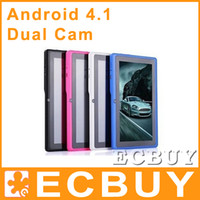 Wholesale for Xmas inch Allwinner A13 Q88 Dual Camera Tablet PC Android multi colors A20 Q88S Q88V Ecbuy Ecbuy