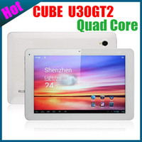 Wholesale Cube U30GT Quad Core Tablet PC Android inch ips screen RK3188 G RAM GB Cortex A9 GHz wifi bluetooth dual camera