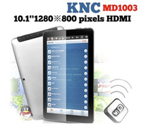 Wholesale Tablet PC inch KNC MD1003 Android Bluetooth HDMI Dual Camera Sual Core Capacitive Screen