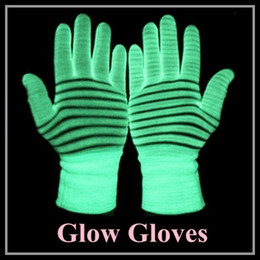Wholesale Glow Gloves for Dancing Showing Party supplies more convenient working at nights popular fashion gloves hot selling dropship