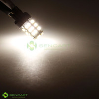 Wholesale T20 W3X16Q SMD LED Color White Amber lights Turn Stop Tail V Bulb