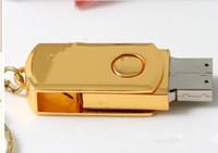 Wholesale 64 gb Premium Mini metal USB Flash Memory Drive Stick Pen Thumb GB usb Free ship