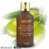 Wholesale 1Pcs Olive oil Base oil Pure Essential Oil Compound essential oil ml