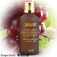 Wholesale 1Pcs Grape Seed Base oil Pure Essential Oil Compound essential oil ml