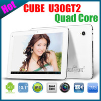 Wholesale 10 inch Cube U30GT ii RK3188 Quad Core Tablet PC GHz IPS Retina Screen GB RAM GB ROM HDMI Bluetooth RK3188 Laptop Cube U30GT