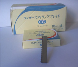 Wholesale 80 pieces Cut Special Razor Blades Sharp blade for hair razor with removable blades