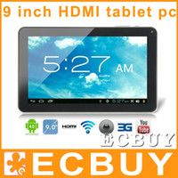 9 inch Dual Core Android 4.2 9 Inch Allwinner A20 Dual Core Tablets PC Android 4.2 1GB RAM 8GB Tablet PC 1.2GHz Wifi HDMI Dual Camera HDMI T900
