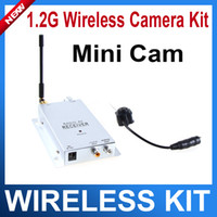 Wholesale 1 G Wireless camera kit CMOS Color Camera Video Receiver kit wireless surveillance