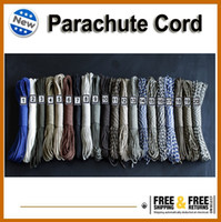 Wholesale Rope Cord Parachute Cord Paracord lb Strand FT Dynamic Safety rope Auxiliary Accessory Cord Climbing