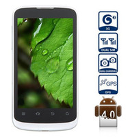 Wholesale 4 inch ZTE V889F Android Smart Phone with G Dual Core GHz WVGA IPS Screen MP Camera