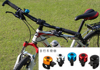 Cheap Free shipping Metal Ring Handlebar Bell Sound for Bike random colors