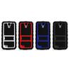 Rugged Rhino Kickstand hybrid Hard Case TPU Gel Cover for samsung galaxy s4 i9500 COVER