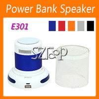 Wholesale Power Bank Wireless Bluetooth Speaker HIFI Speakers Support Hands free Calls for Phone Intelligent Voice for Sale