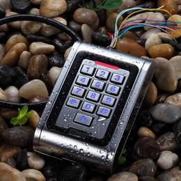 Wholesale Single Tamper Alarm Waterproof Door Access Controller Reader RFID KHZ Metal Keypad S357