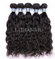 Wholesale Queen Hair Products AAAAA Brazilian Virgin Human Hair Unprocessed Mixed Lengths Loose Wave Hair Extensions Natural Black Can Be Dye
