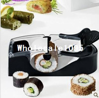 Wholesale Freeshipping Multi function sushi Maker Sushi Rice roll mold Sushi Cutter Mold sushi curtain roll
