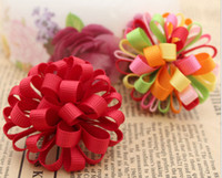 bag grosgrain - 2 inch Handmade grosgrain ribbon korker bow DIY Hair shoe bag accessories colors eone