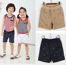 Wholesale 2013 hotsale baby shorts boys and girls short pants navy beige white Children Summer Short Pants