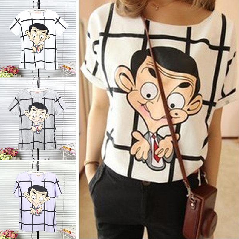 Buy Cheap Korean Women 2013 New Mr Bean Cartoon Printed Short Buy Cheap Korean Women 2013 New Mr Bean Cartoon Printed Short