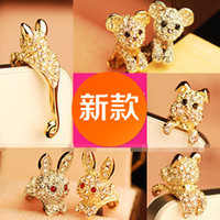 Earphone Jack Plugs iphone4s mobile phone - Cartoon animal cell phone dustproof plug fashion iphone4S iphone5 ipad HTC mobile phone accessories