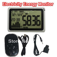 Wholesale Wireless Carbon Electricity Energy Monitor power meter USB port data download to PC saver power