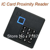 Wholesale Black Mifare One IC Card Proximity Reader with keypad WG26 for access Weatherproof