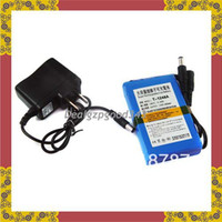 Wholesale 4800mAh V DC power Rechargeable Li ion battery For CCTV Camera
