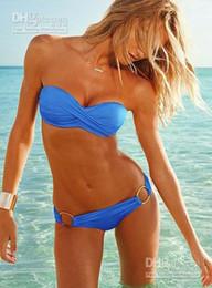 Wholesale Holiday Sale Fashion Brand for woman Sexy bikini with PAD Hot swimsuits Ladies swimwear beachwe gv